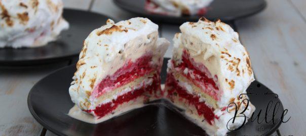 Dessert glacé : l'Alaska Bomb