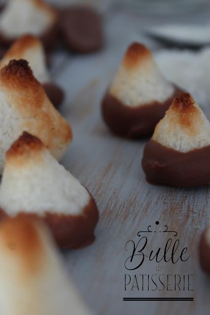 Recette sucrée facile : Congolais au chocolat au lait
