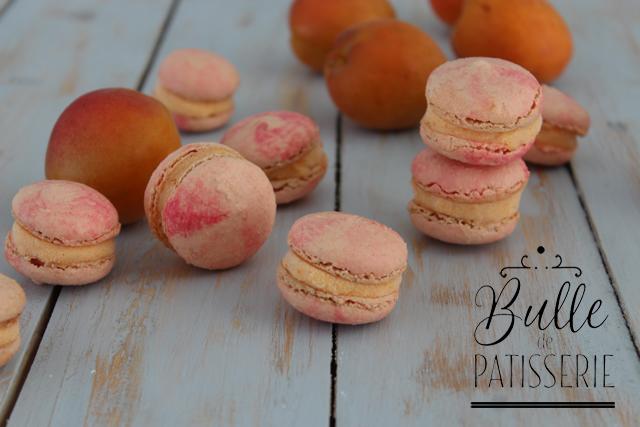 Recette d'été : macarons glacés à l'abricot