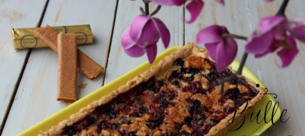 Dessert Facile : Tarte aux fruits rouges et pignons de pin