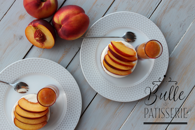 Recette facile : cheesecake aux nectarines sans cuisson