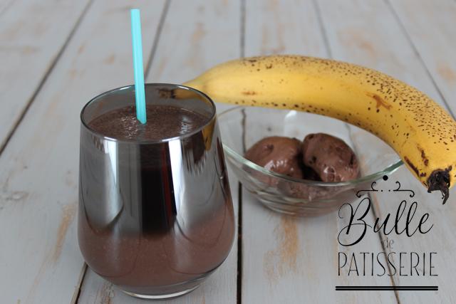 Recette boisson été : Milkshake banane-chocolat