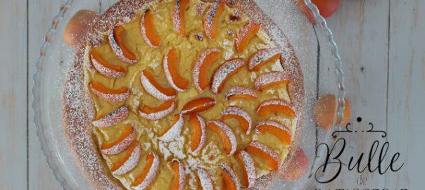 Recette estivale : tarte briochée aux abricots