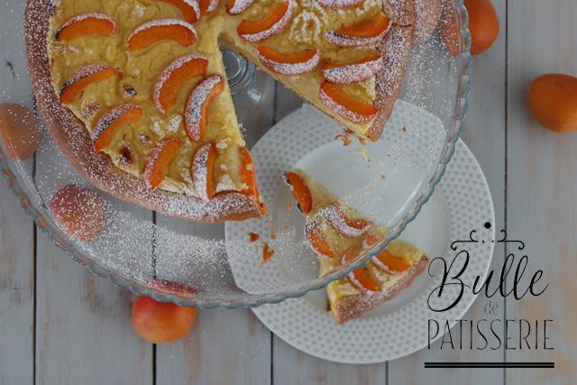 Recette de boulange maison : tarte briochée aux abricots