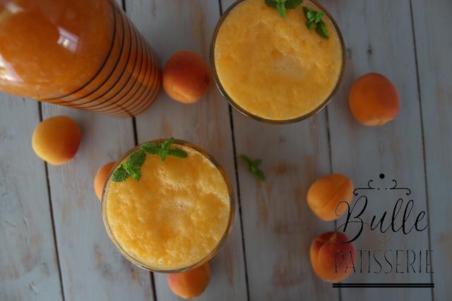 Sirop Abricot-Fleur d'Oranger