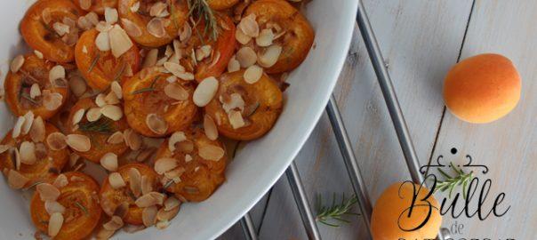 Recette rapide : abricots rôtis au four au romarin