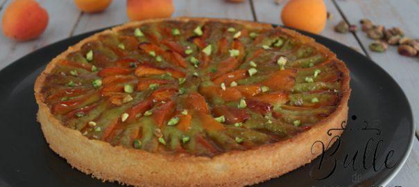 Recette gourmande : tarte abricots-pistache