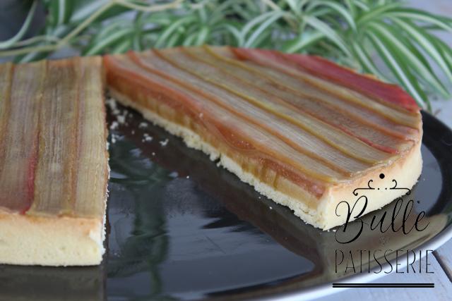 Recette de tarte à la rhubarbe