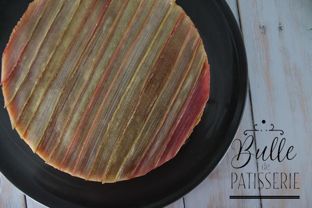 Pâtisserie acidulée : Tarte à la rhubarbe de Philippe Conticini