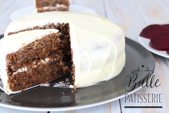 Beetroot Cake : recette du gâteau à la betterave