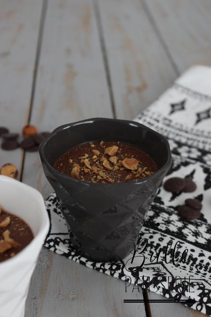 Dessert facile : petits pots de crème au chocolat