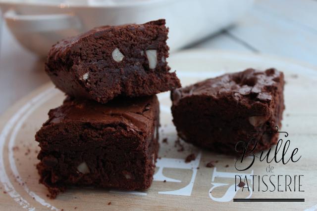 Dessert Facile : Brownies Chocolat et Noix de Pécan