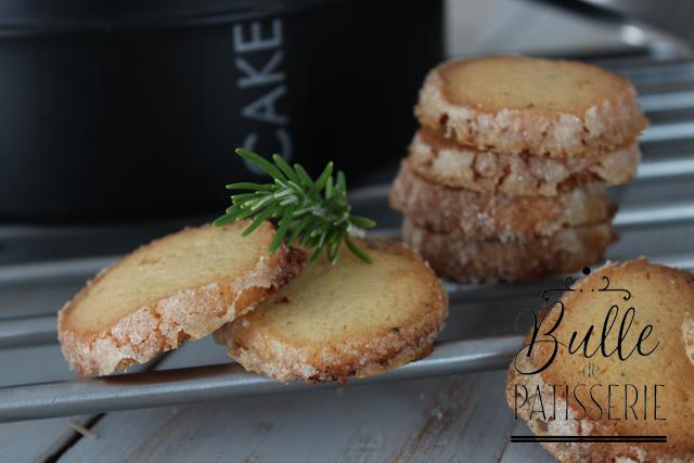 Biscuits maison : sablés au romarin