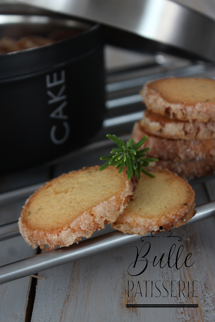 Recette de biscuits faciles au romarin