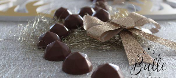 Cadeau maison à faire pour Noël : chocolats au beurre de cacahuètes