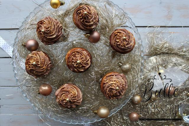 Recette gourmande d'hiver : cupcakes clémentines-chocolat