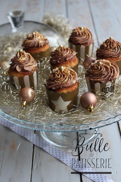 Dessert de Noël maison : cupcakes chocolat-clémentines