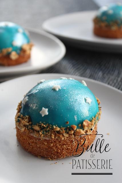 Dessert de fête : entremets Galaxie Passion-Vanille