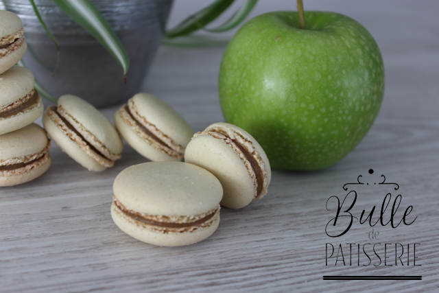 Recette gourmande : macarons acidulés à la pomme