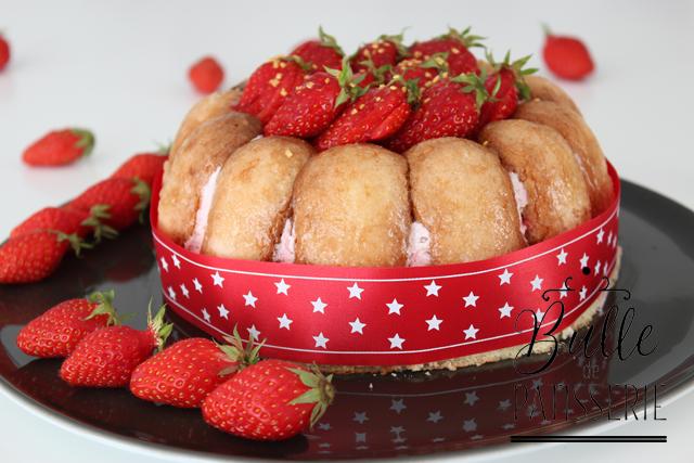 Dessert facile : la charlotte aux fraises