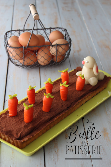 Dessert de Pâques : tarte chocolat-caramel