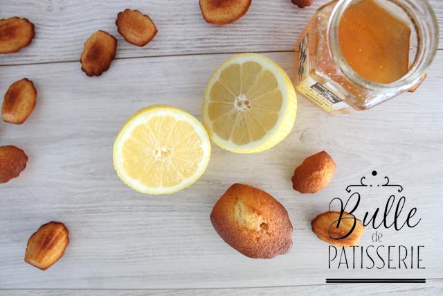 Recette facile : madeleines Citron-Miel