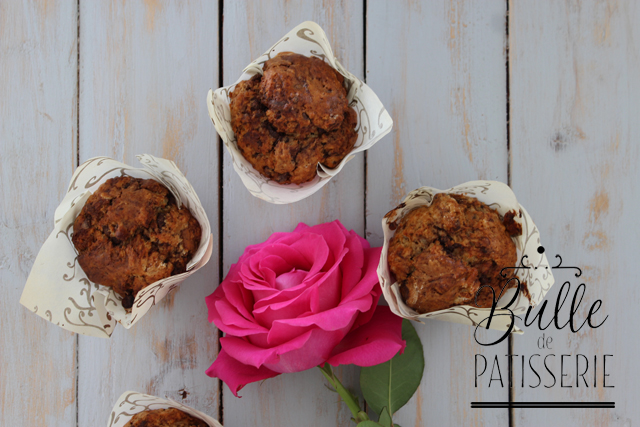 A l'heure du goûter : muffins double chocolat