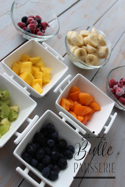 Smoothie Arc-en-Ciel : une recette gorgée de fruits d'été