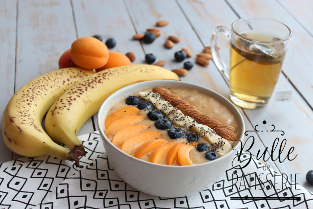 Petit déjeuner healthy : Smoothie Bowl aux fruits d'été