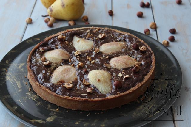 Dessert Facile : la tarte Poires-Chocolat