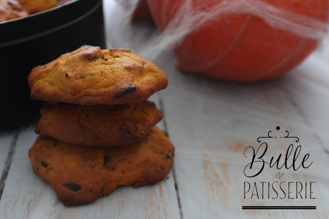 Recette d'Halloween : cookies au potimarron