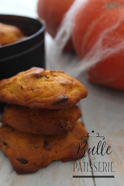 Cuisiner les courges en dessert : cookies au potimarron