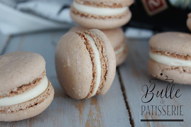 Macarons à la liqueur de café (Baileys)