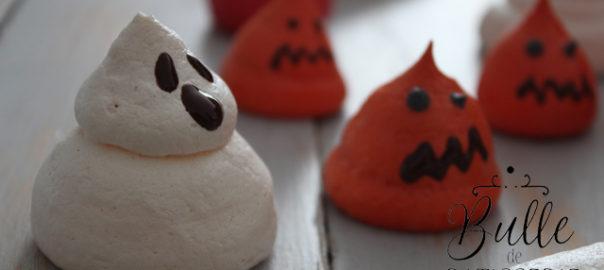 Recette d'Halloween : meringue fantôme