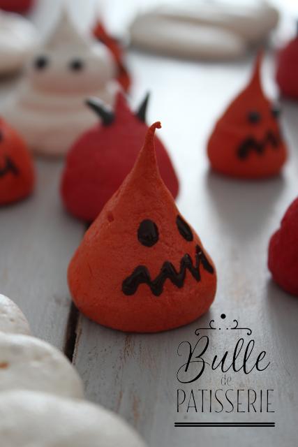 Recette d'Halloween : meringue citrouille