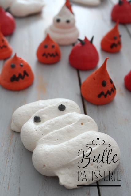 Recette d'Halloween : meringue momie