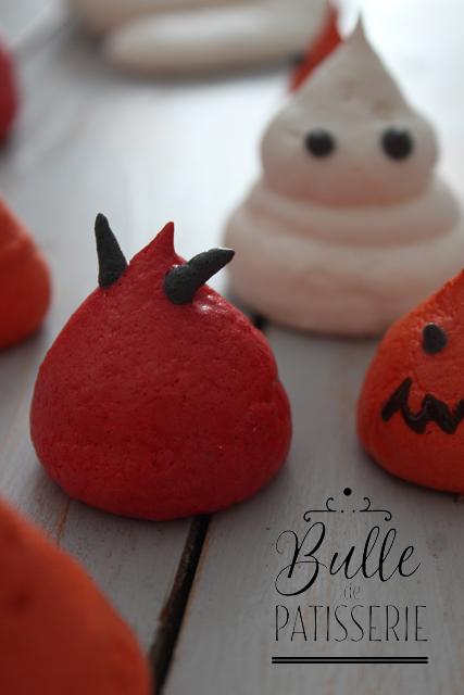 Recette d'Halloween : meringues diablotins