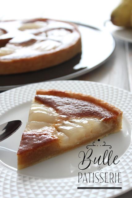 Tartes aux poires : la tarte Bourdaloue