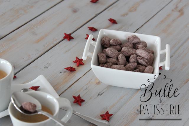 Mignardises : les amandes chocolatées