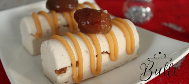 Recette facile et rapide : les bûchettes aux marrons glacés