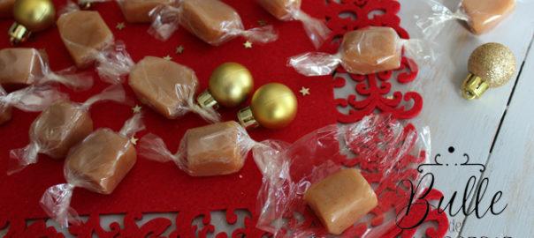 Recette facile : bonbons au caramel mou