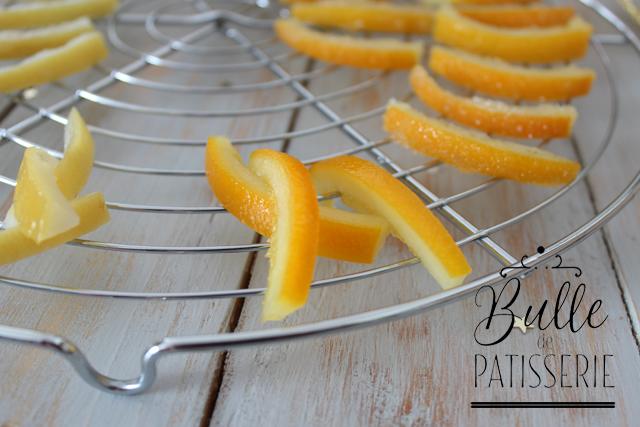 Pâtisserie de fêtes : écorces de citrons et d'oranges confites