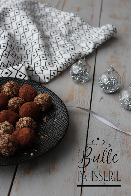 Recette de Noël : les truffes au praliné