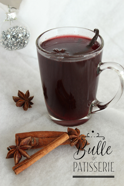 Boisson de Noël : vin chaud aux épices