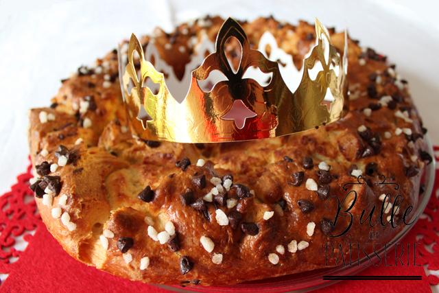 Recette de l'Épiphanie : brioche des rois frangipane-chocolat