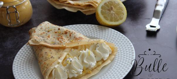 Recette de la Chandeleur : crêpes citron-pavot