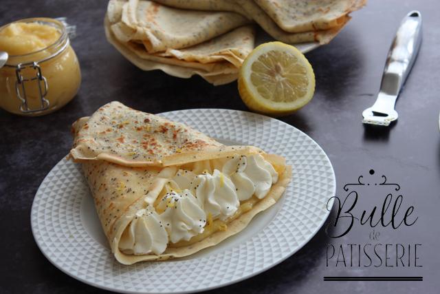 Crêpes Citron-Pavot