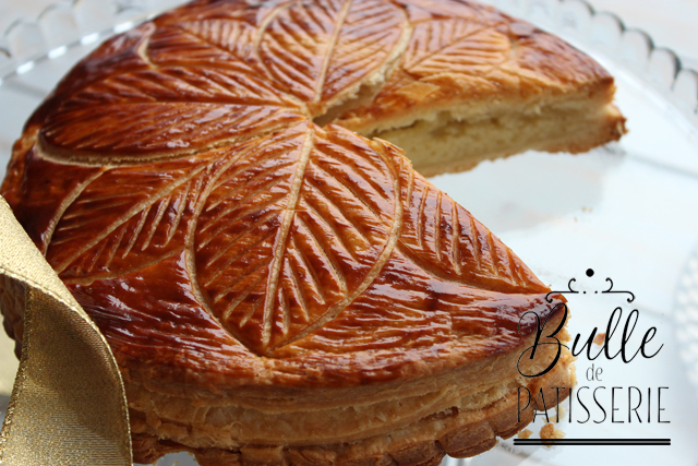 Dessert de Janvier : Galette crème de Frangipane - Feuilletage Express