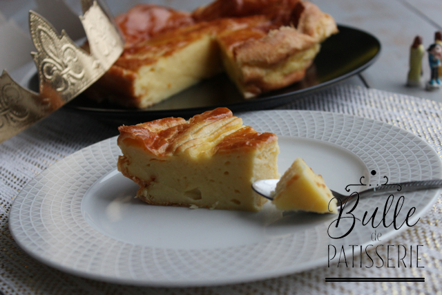 Galette comtoise ; une galette des rois originale en pâte à choux