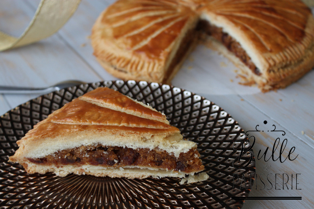 Recette d'Épiphanie : galette des rois praliné-chocolat